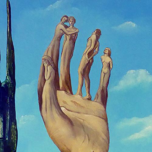 Surrealistische kunstenwerken van Belgische en Nederlandse kunstenaars kopen in onze on line kunstgalerij