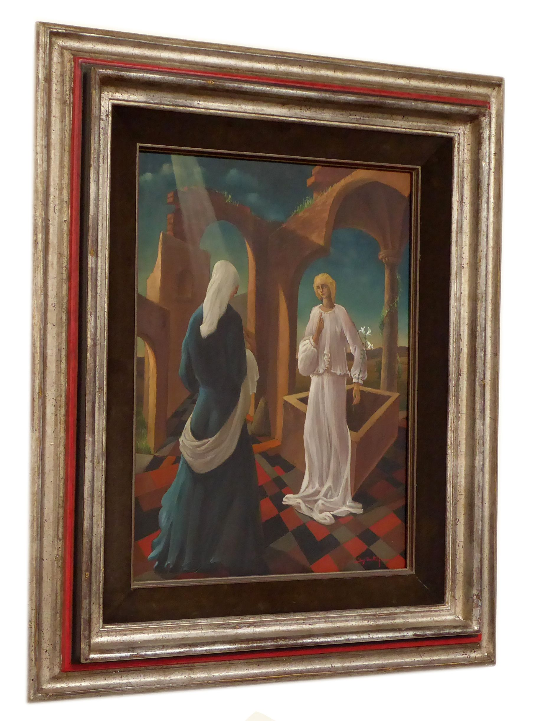 | The annunciation according Jos Trotteyn
