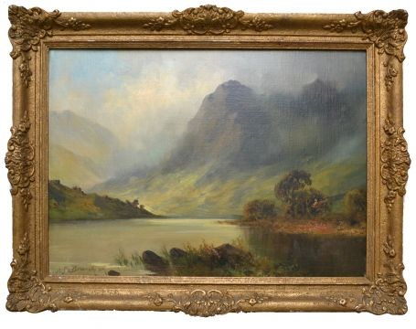 Schots loch and mountain 1893