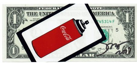 1 Dollar Coca-Cola Spray 2017