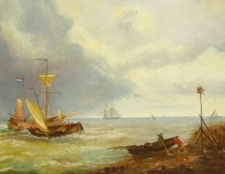 Painting from Emile Geudens