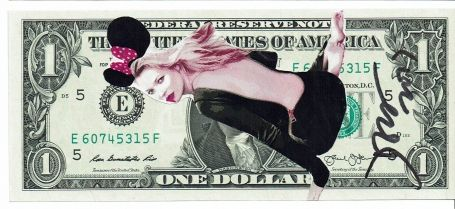 1 Dollar Kate Moss Mickey 2017
