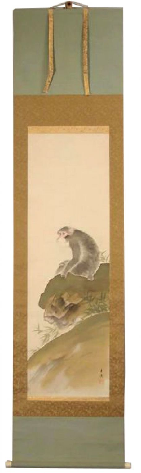 Monkey on silk
