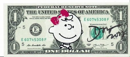 1 Dollar Charlie Brown 2017