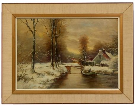 Naar/To Louis Apol Winterlandschap