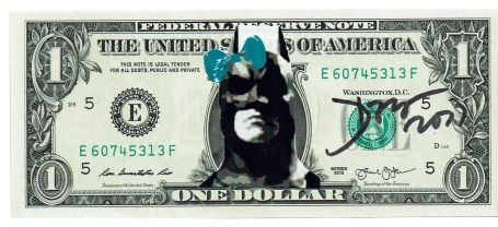 1 Dollar Batman 2017