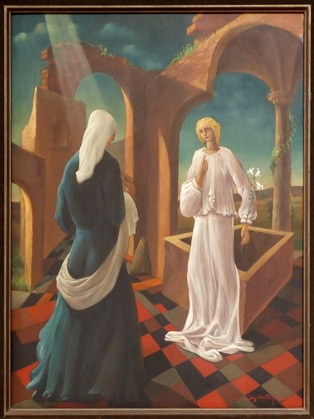 The annunciation according Jos Trotteyn